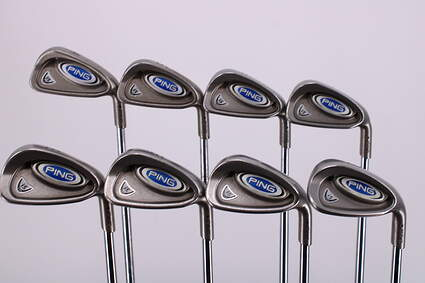 Ping i5 Iron Set 4-PW SW True Temper Steel Stiff Right Handed Black Dot 37.75in
