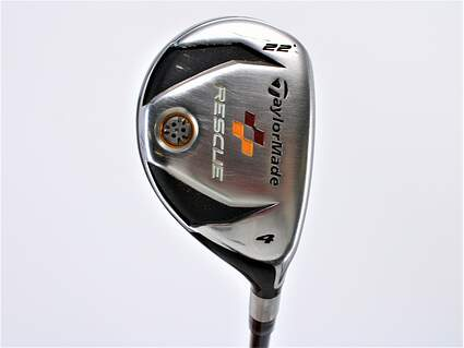 TaylorMade 2009 Rescue Hybrid 4 Hybrid 22° TM Aldila reax 65 hybrid Graphite Regular Right Handed 40.0in