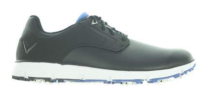 New Mens Golf Shoe Callaway La Jolla Medium 11.5 Black/White MSRP $120 CG202BKB
