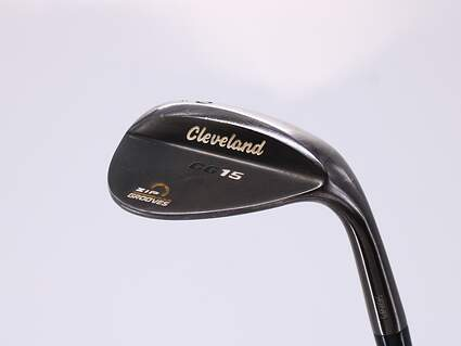 Cleveland CG15 Black Pearl Wedge Lob LW 60° 12 Deg Bounce Cleveland Traction Wedge Steel Wedge Flex Right Handed 35.25in