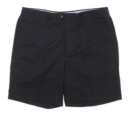 New W/ Logo Mens DONALD ROSS Shorts 42 Black MSRP $98