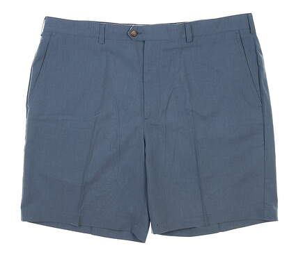 New W/ Logo Mens DONALD ROSS Shorts 42 Gray MSRP $98