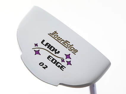 Mint Tour Edge Lady Edge 02 Purple Putter Steel Right Handed 33.0in