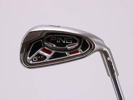 Ping G15 Single Iron 7 Iron Ping AWT Steel Stiff Right Handed White Dot 37.5in