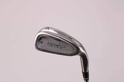 Cobra Gravity Back Single Iron 6 Iron Cobra Steel Regular Right Handed 37.75in