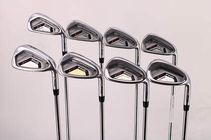 Ping I25 Iron Set 4-PW GW Ping CFS Steel Stiff Right Handed Yellow Dot 37.75in