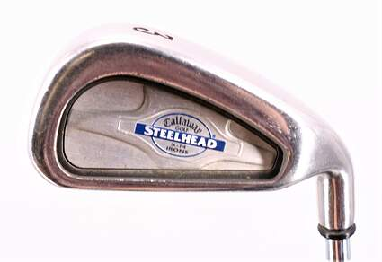 Callaway X-14 Single Iron 3 Iron Callaway Stock Steel Steel Regular Right Handed 39.25in