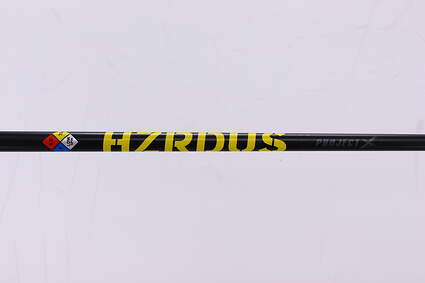 Used W/ Adapter Project X HZRDUS 75 Black 5.5 Driver Shaft Regular 44.25in