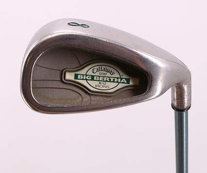 Callaway X-12 Single Iron 8 Iron Callaway Gems Graphite Lite Right Handed 34.25in