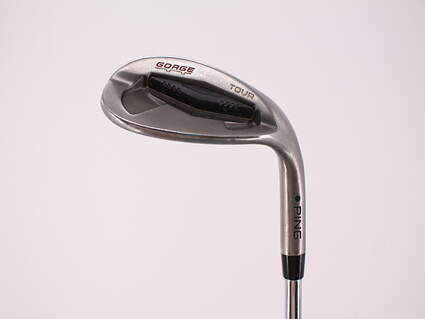 Ping Tour Gorge Wedge Lob LW 60° Ping CFS Steel Stiff Right Handed Black Dot 35.25in