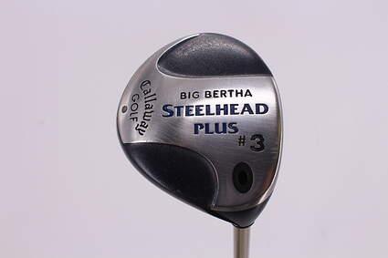 Callaway Steelhead Plus Fairway Wood 3 Wood 3W Callaway Gems Graphite Ladies Right Handed 42.5in