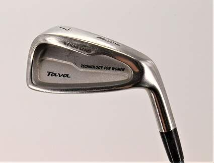 Mizuno Tava Single Iron 7 Iron Stock Graphite Shaft Graphite Ladies Right Handed 36.75in