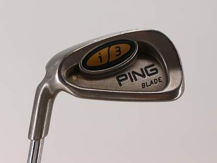 Ping i3 Blade Single Iron 8 Iron Ping JZ Steel Stiff Left Handed White Dot 37.5in
