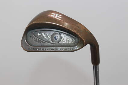 Ping Eye 2 Beryllium Copper Single Iron Pitching Wedge PW Ping Microtaper Steel Stiff Right Handed 35.75in