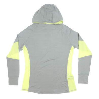New Womens Footjoy Pullover Cowl Neck Medium M Gray MSRP $120 27292