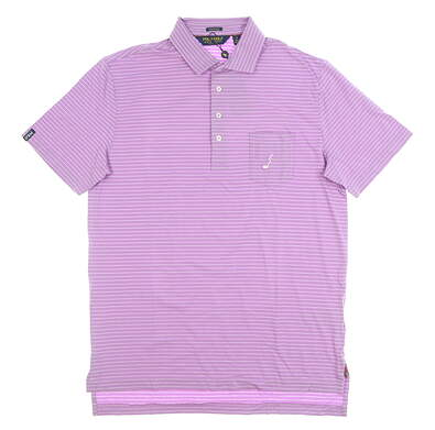 New W/ Logo Mens Ralph Lauren Golf Polo X-Large XL Purple MSRP $94