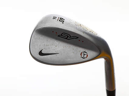 Nike SV Tour Chrome Wedge Lob LW 60° 6 Deg Bounce True Temper Dynamic Gold S400 Steel Stiff Right Handed 35.5in