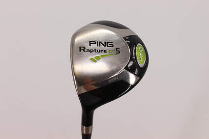 Ping Rapture Fairway Wood 5 Wood 5W 17° Ping TFC 909F Graphite Regular Left Handed 42.5in
