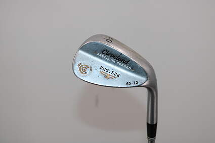 Cleveland 2012 588 Satin Wedge Lob LW 60° 12 Deg Bounce True Temper Tour Concept Steel Wedge Flex Right Handed 35.5in