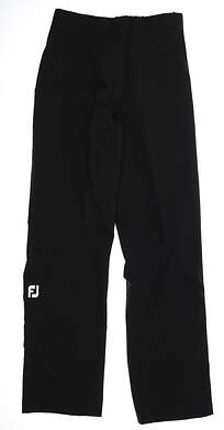 New Womens Footjoy Dry Joys Rain Pants Medium M Black MSRP $80 35212