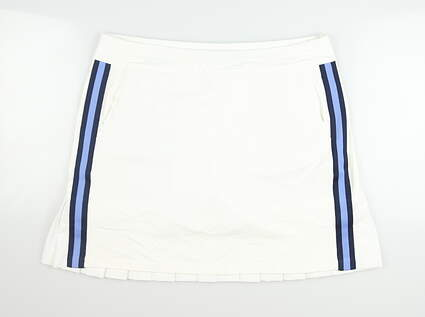 New Womens Ralph Lauren Golf Skort Large L White MSRP $125
