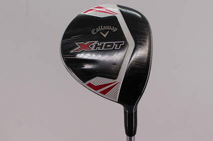 Callaway 2013 X Hot Womens Fairway Wood 7 Wood 7W Project X PXv Graphite Ladies Right Handed 41.25in