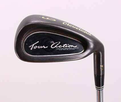Cleveland TA5 Gunmetal Single Iron 9 Iron True Temper Release Sensicore Steel Regular Right Handed 35.75in