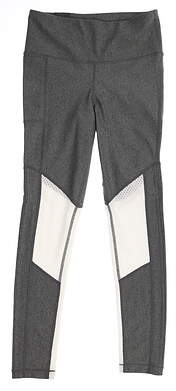 New Womens Under Armour Leggings Grey Small S MSRP $60