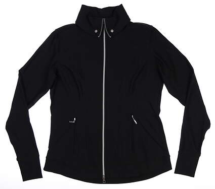 New Womens Jo Fit Dynamic Jacket Medium M Black MSRP $130 UT043-BLK