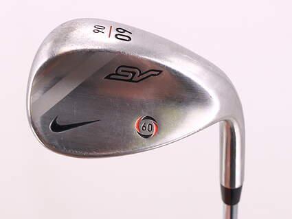 Nike SV Tour Chrome Wedge Lob LW 60° 6 Deg Bounce True Temper Steel Wedge Flex Right Handed 34.75in