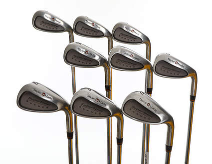 TaylorMade Supersteel Iron Set 3-PW SW Rifle Prescion Steel Regular Right Handed 37.5in