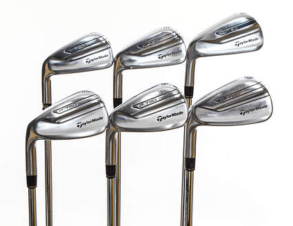 TaylorMade P-790 Iron Set 5-PW Nippon NS Pro Modus 3 Tour 120 Steel Stiff Left Handed 38.0in