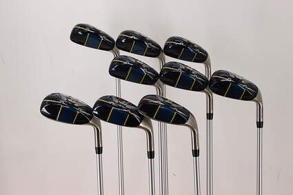Tour Edge Hot Launch 2 Iron-Wood Iron Set 4-PW SW LW Stock Graphite Shaft Graphite Regular Right Handed 38.25in