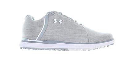 New Womens Golf Shoe Under Armour UA Fade SL Sunbrella Medium 7.5 Gray MSRP $100