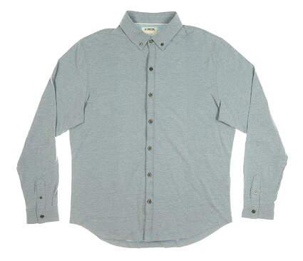 New Mens LinkSoul Button Up X-Large XL Blue MSRP $70 LS208