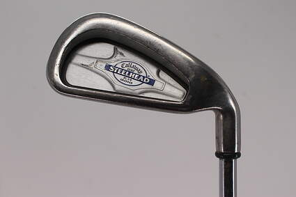 Callaway X-14 Single Iron 4 Iron Callaway Stock Steel Steel Stiff Right Handed 38.5in