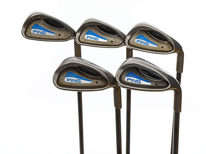 Ping G2 EZ Iron Set 7-PW SW Ping TFC 100I Graphite Soft Regular Right Handed Black Dot 36.75in