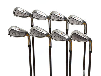 TaylorMade Supersteel Iron Set 4-PW SW TM Bubble Graphite Senior Right Handed 38.25in