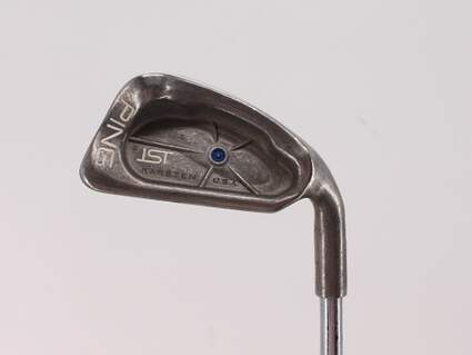 Ping ISI Single Iron 4 Iron Ping JZ Steel Stiff Right Handed Blue Dot 39.5in