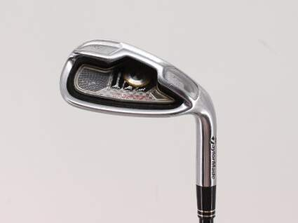 TaylorMade Tour Burner Single Iron Pitching Wedge PW TM Reax 65 Graphite Stiff Right Handed 36.25in