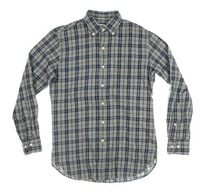 New Mens Peter Millar Button Down X-Large XL Gray MSRP $125