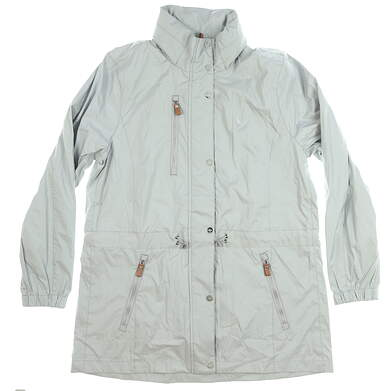 New Womens Ralph Lauren Jacket Large L Gray MSRP $150