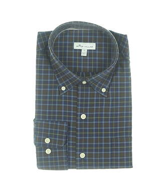 New Mens Peter Millar Button Down Large L Multi MSRP $125