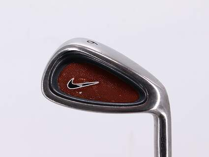 Nike CPR Single Iron 6 Iron Stock Steel Shaft Steel Stiff Right Handed 37.5in