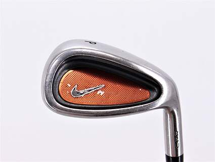 Nike CPR Single Iron Pitching Wedge PW Stock Steel Shaft Steel Stiff Right Handed 35.75in