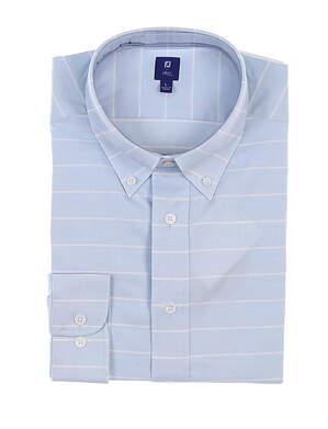 New Mens Footjoy 1857 Button Up Medium M Blue MSRP $165 27870