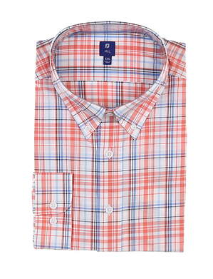 New Mens Footjoy 1857 Button Up Large L Multi MSRP $165 27868