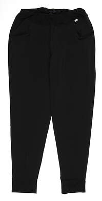 New Womens Puma Jogger Pants Small S Puma Black MSRP $75 597722 01