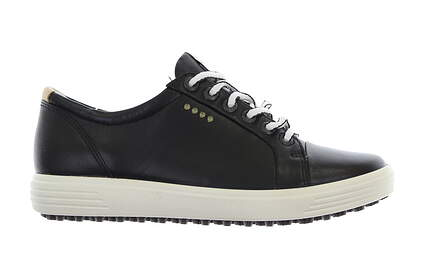 New Womens Golf Shoe Ecco Casual Hybrid 35 (4-4.5) Black MSRP $260 12201301001
