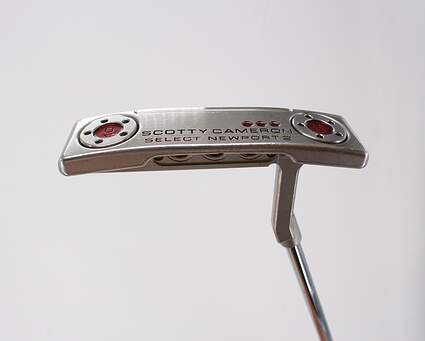 Titleist Scotty Cameron 2018 Select Newport 2 Putter Steel Right Handed -2 Degrees Flat 33.0in